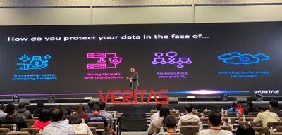 Verma presenting Backup Exec