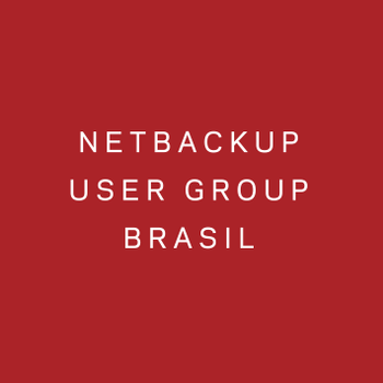 NetBackup User Group Brasil