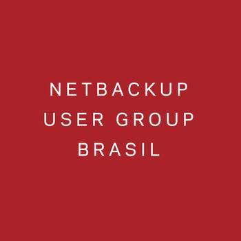 NetBackup User Group Brasil