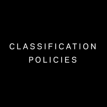 Veritas Classification Policies Group