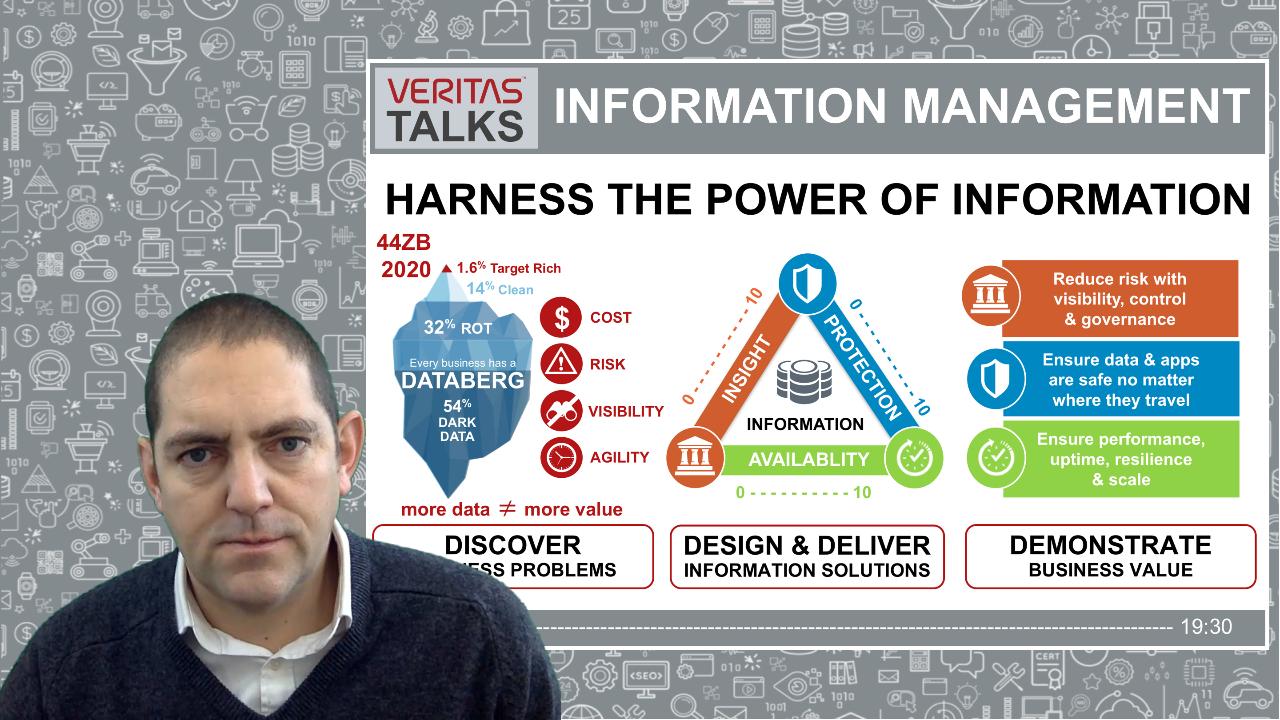 Veritas Talks Information Management